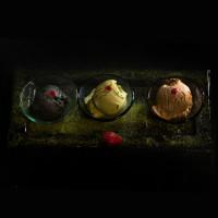 три вида сладолед