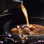Фина доматена супа с морски дарове