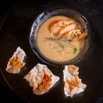 Супа от кестени със змиорка