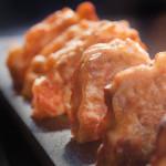 Кюфтета от сьомга и тофу
