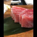 Сашими корем от Bluefin tuna